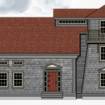 Lighthouse style house from Timberframe House Plans