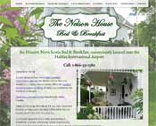 The Nelson House B&B website