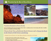 Vacation rentals by the sea in Nova Scotia