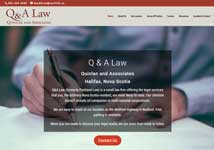 Quinlan and Associates Law, Halifax website