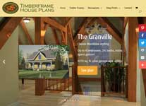 Timberframe House Plans website