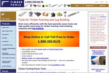 Timber Tools X-Cart site