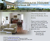 McCormack House, Wolfville vacation rental